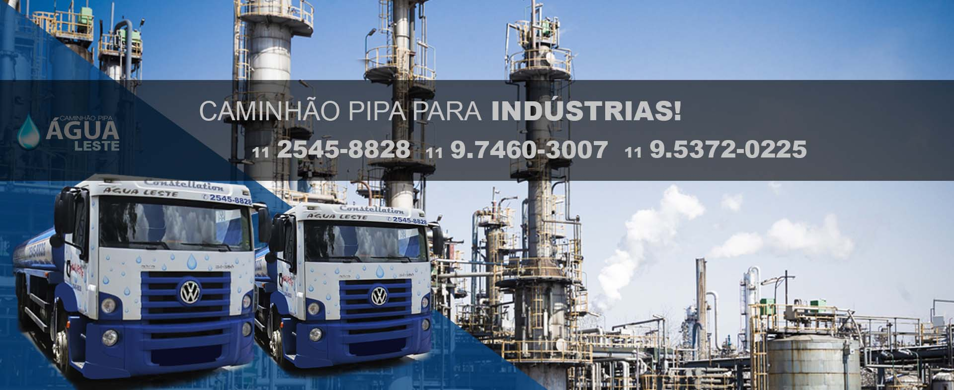 CAMINHÃO PIPA PARA INDÚSTRIAS