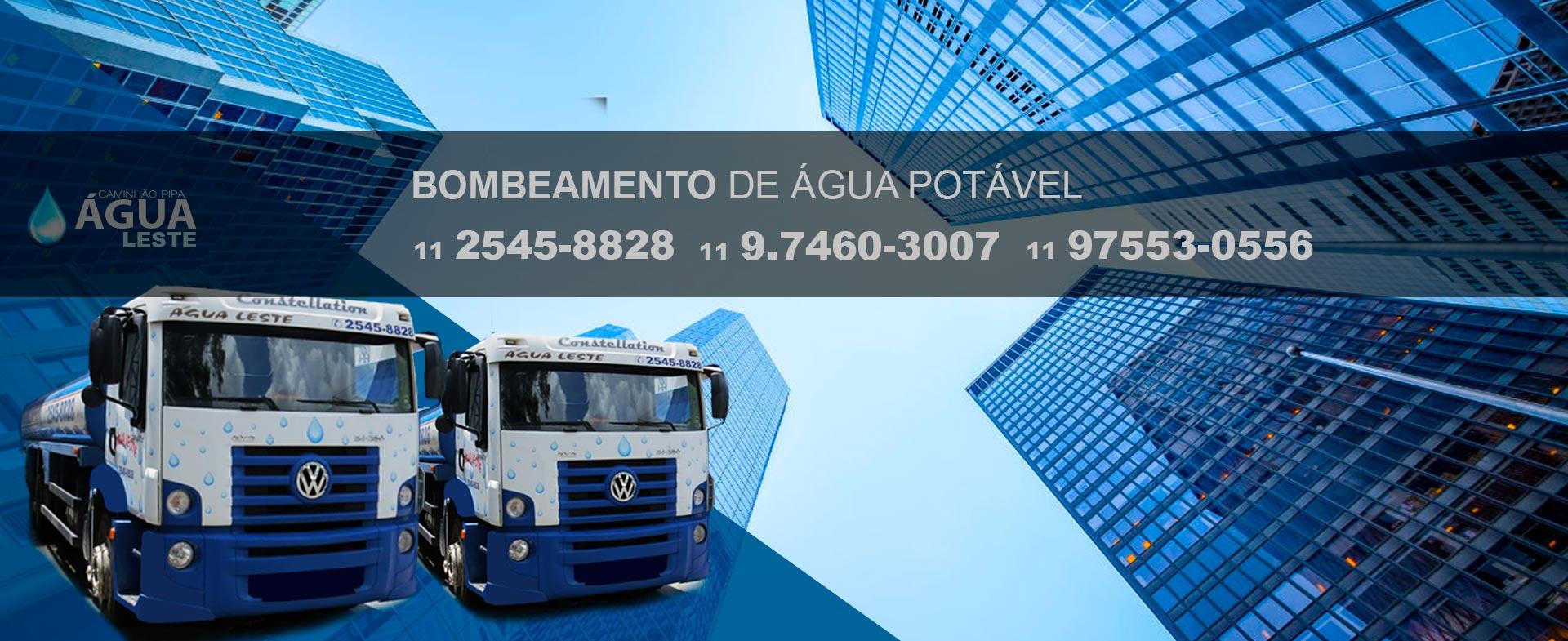 BOMBEAMENTO DE ÁGUA POTÁVEL PARA ALTURAS